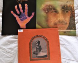 A George Harrison and related 3 album lot which includes the Bangladesh box set