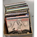 A 65 album lot - various genres on offer here