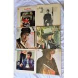 A lot of UK CBS Dylan albums - some early pressings / viewing recommended - VG in the main - would