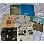 A lot of seven John Lennon albums