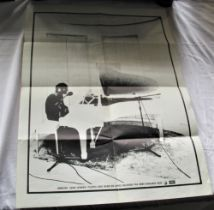 A promo poster for ' Imagine ' by John Lennon - this would have been sent to record shops and is not