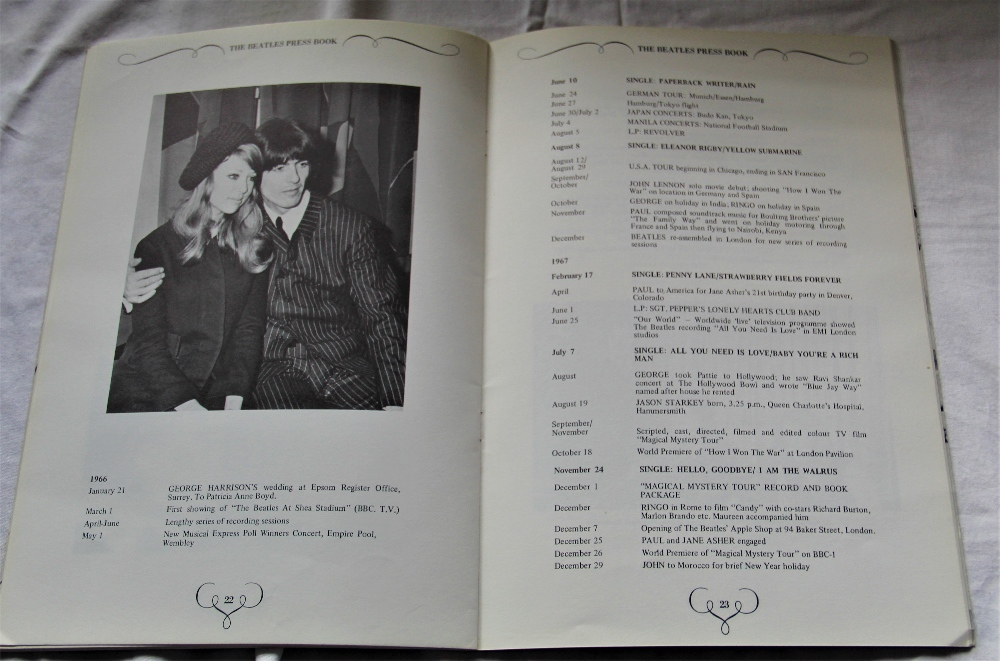 A copy of the hard to find official Apple Records Beatles press book ' the Apple office present ' - Image 3 of 5