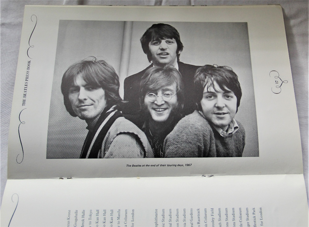 A copy of the hard to find official Apple Records Beatles press book ' the Apple office present ' - Image 5 of 5