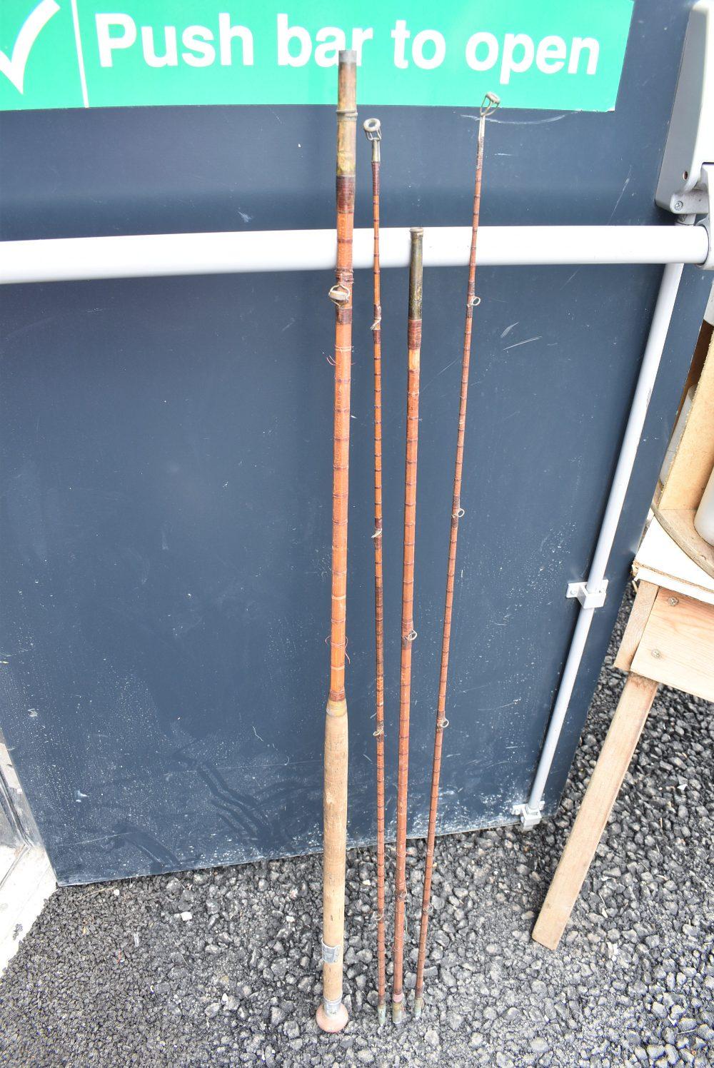 A Hardy Palokona split cane 26-6936 one eyelet missing, has spare tip.