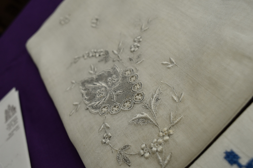 A collection of needlework, stitched by Miss Annie Wood of Carlton rd, Helmsley a British - Image 2 of 8