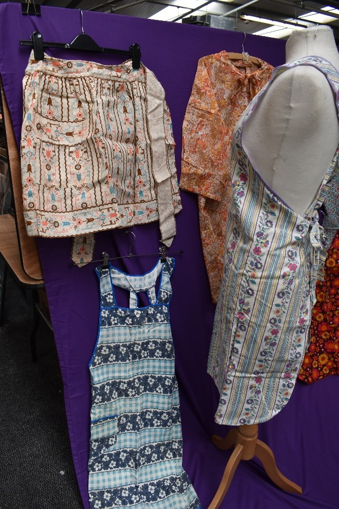 A lovely collection of aprons and overalls, some having original packaging and a lot appearing - Image 7 of 9