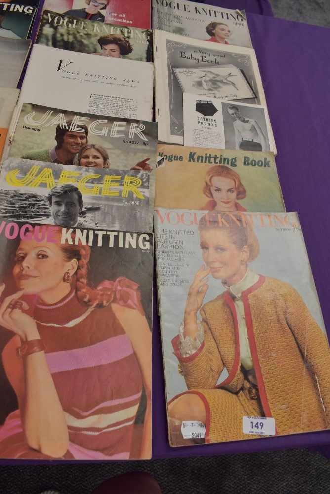A collection of vintage knitting magazines. - Image 2 of 4