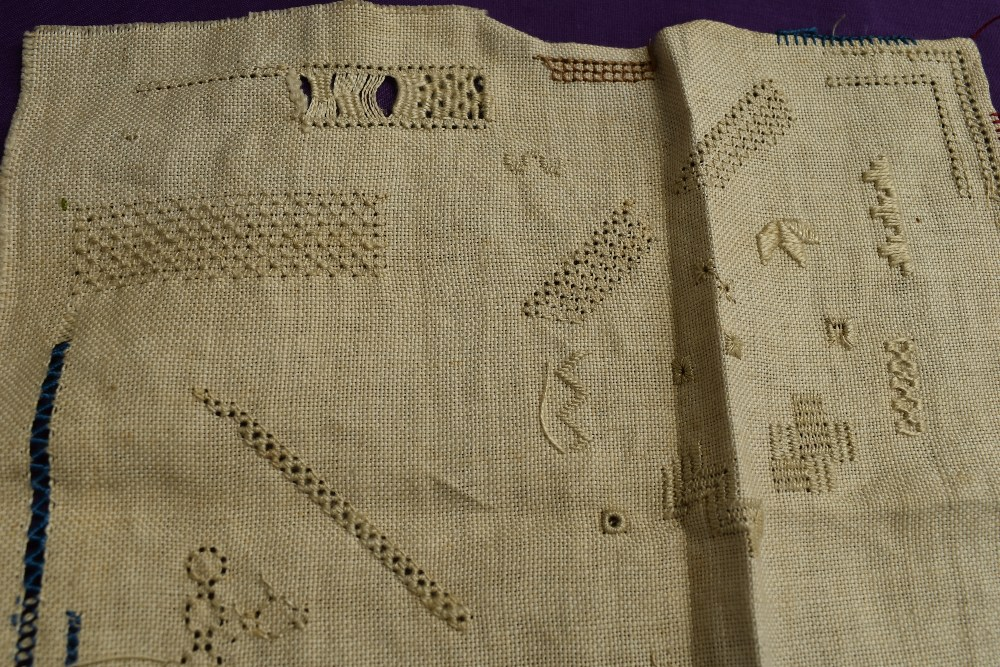 A collection of needlework, stitched by Miss Annie Wood of Carlton rd, Helmsley a British - Image 6 of 8