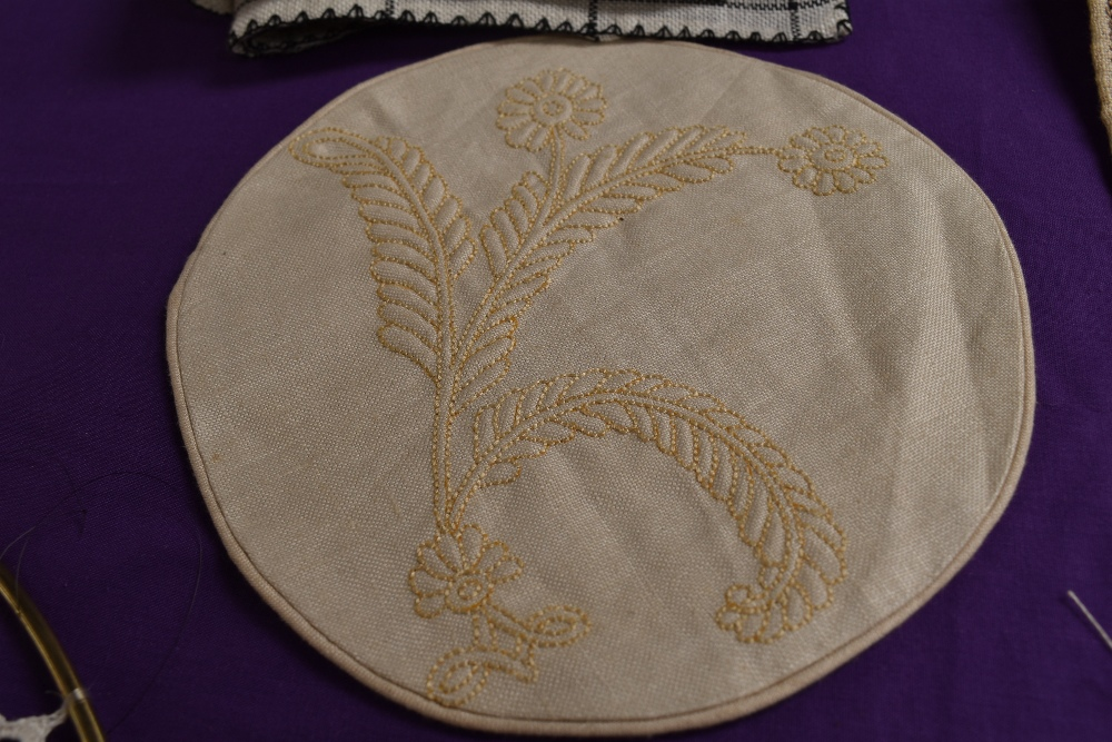 A collection of needlework, stitched by Miss Annie Wood of Carlton rd, Helmsley a British - Image 4 of 8