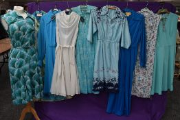 A good collection of vintage and retro Ladies dresses in a variety of fabrics, patterns and styles.