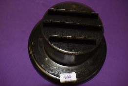A genuine vintage Morris Motors military related black out had lamp cover