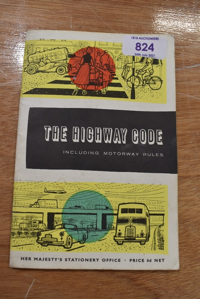 A vintage copy of the Highway code