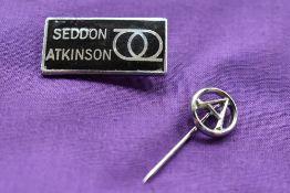 Seddon Atkinson Lapel badge.