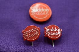 Seddon Diesel Lapel badges.
