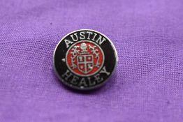 An Austin Healey Lapel badge.