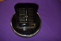 A genuine vintage military related black out had lamp cover