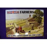 A modern sign for British Farmers