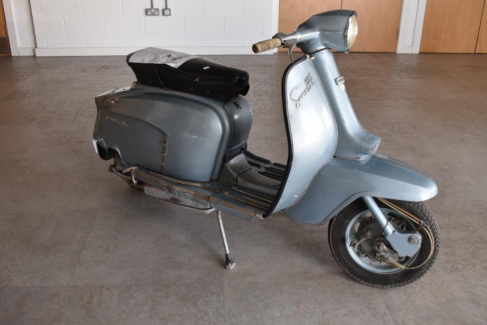 A genuine vintage Italian made Lambretta SX 125 Special scooter Innocenti original barn find