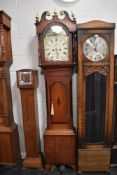 A Hewson of Lincoln longcase clock with 8 day movement