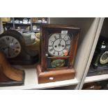 An American 30 hour mantel clock by Sean Thomas, Connecticut
