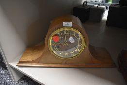 An American 8 day mantel clock by Sean Thomas