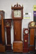 A D Taylor of Diss 30 hour longcase clock