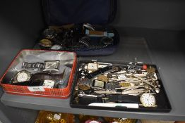 A selection of mens and ladies wristwatches and spares and repairs including Zeon Ben Sherman