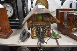 A Black Forrest cuckoo clock