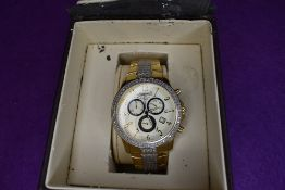 A gent's Ingersoll Diamond Classic quartz wrist watch IGO496DC having a Roman numeral dial to