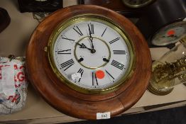 A reproduction 31 day wall clock