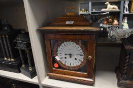 A Paico 8 day bracket clock