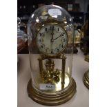A 40 day Kundo German anniversary clock