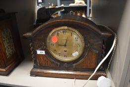 A Genalex mantel clock