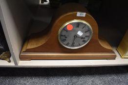An 8 day mantel clock