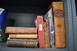 A selection of hardback books including 1776 Interesting and State trials