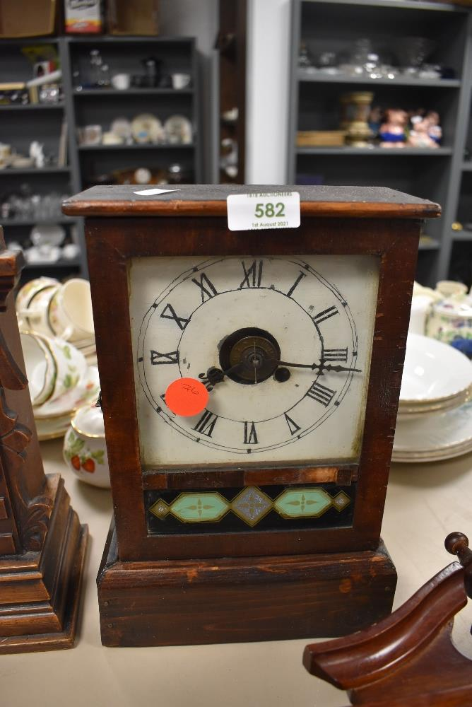An American 30 hour mantel clock