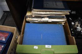 A good selection of antique and later piano sheet music including classical hard bound
