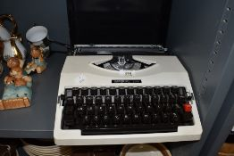 An Imperial 205 typewriter with case