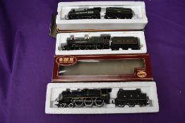 Two Mainline 00 gauge Loco's & Tenders, BR 0-6-0 3210, boxed and LMS 4-6-0 5687, part boxed along