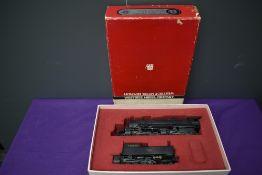 A Samhongsa Westside Model Company American Brass HO scale 2-8-8-8-4 Virginian Triplex Loco & Tender