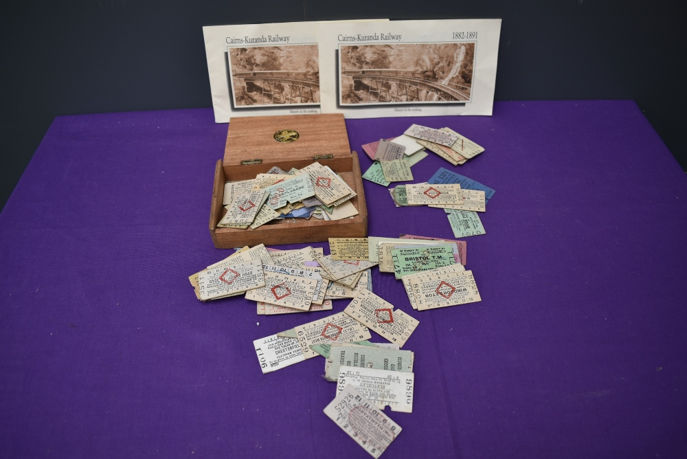 A collection of 1950's and later Railway Platform Tickets including Southern Railway, LNER, Great