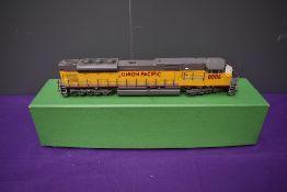 A Overland Models Inc Ajin Precision American Brass HO scale SD90 Union Pacific Diesel Locomotive