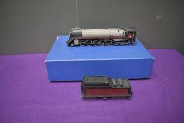 A Samhongsa VH Models American Brass HO scale 2-10-4 Canadian Pacific CPR Selkirk Loco & Tender