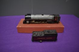 A American Brass HO Scale Canadian Pacific 2-10-4 Loco & Tender 5934 in non original Roller