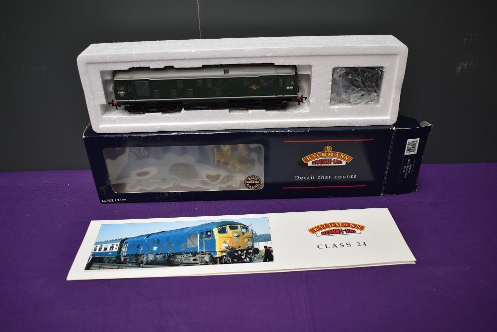 A Bachmann 00 gauge Class 24 BR Diesel Plain Locomotive, D5054, boxed 32-426