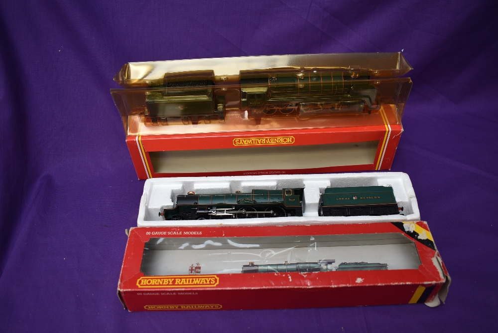 Two Hornby 00 gauge Loco & Tenders, 4-6-0 King Edward I 6024, boxed R078 and 2-10-0 Evening Star