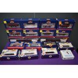 Seventeen Bachmann 00 gauge Rolling Stock Items, Bogie 33854 x2, Hopper 38500 x5, Plank 33952 x4,