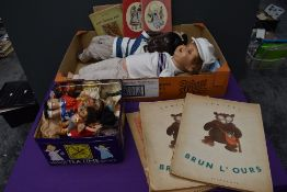 A mid 20th century Armand Marseille composition Doll having sleep eyes numbered 996 A7M, a similar