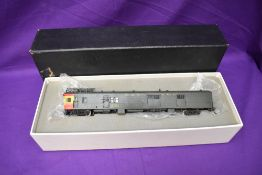 A Hallmark Models Inc made by Dongjin HO scale AT & SF Gas Electric in original box M150 M157
