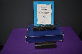 A Alco Models KMT American Brass HO scale 6-8-6 Steam Turbine Loco & Tender, Baldwin Westinghouse,